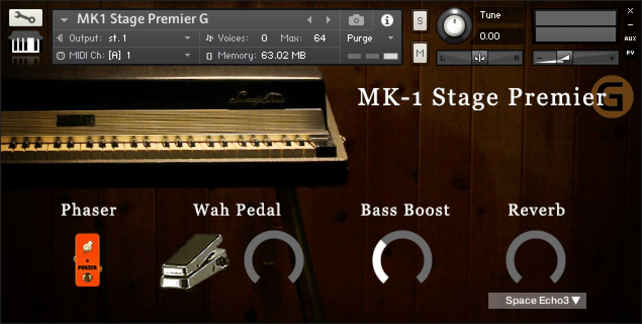 MK-1 Stage Premier G screen